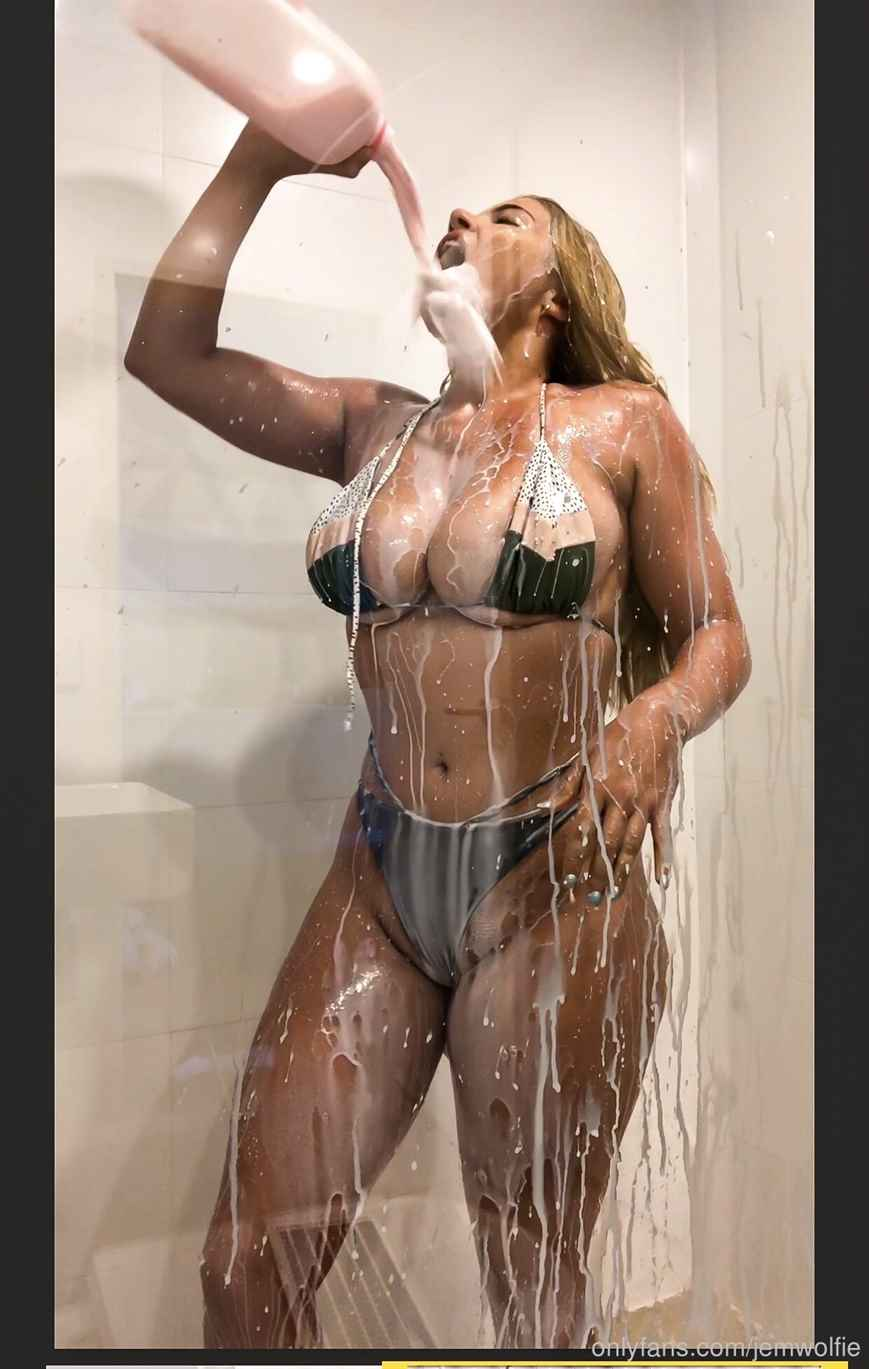 Jem Wolfie Nude Shower Onlyfans Photos Leaked 0042
