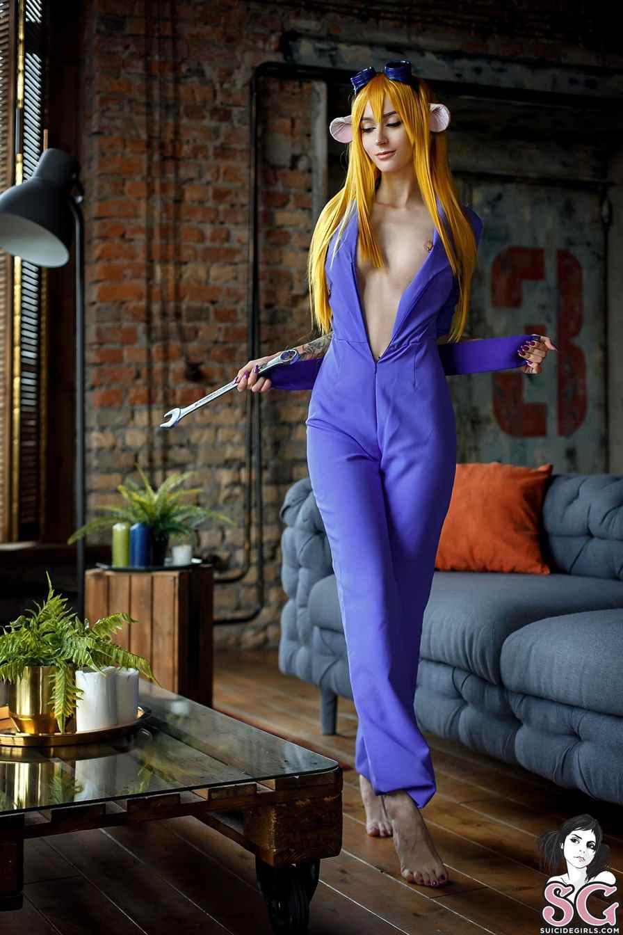 Purple Bitch Nude Gadget Patreon Photos Leaked 0021