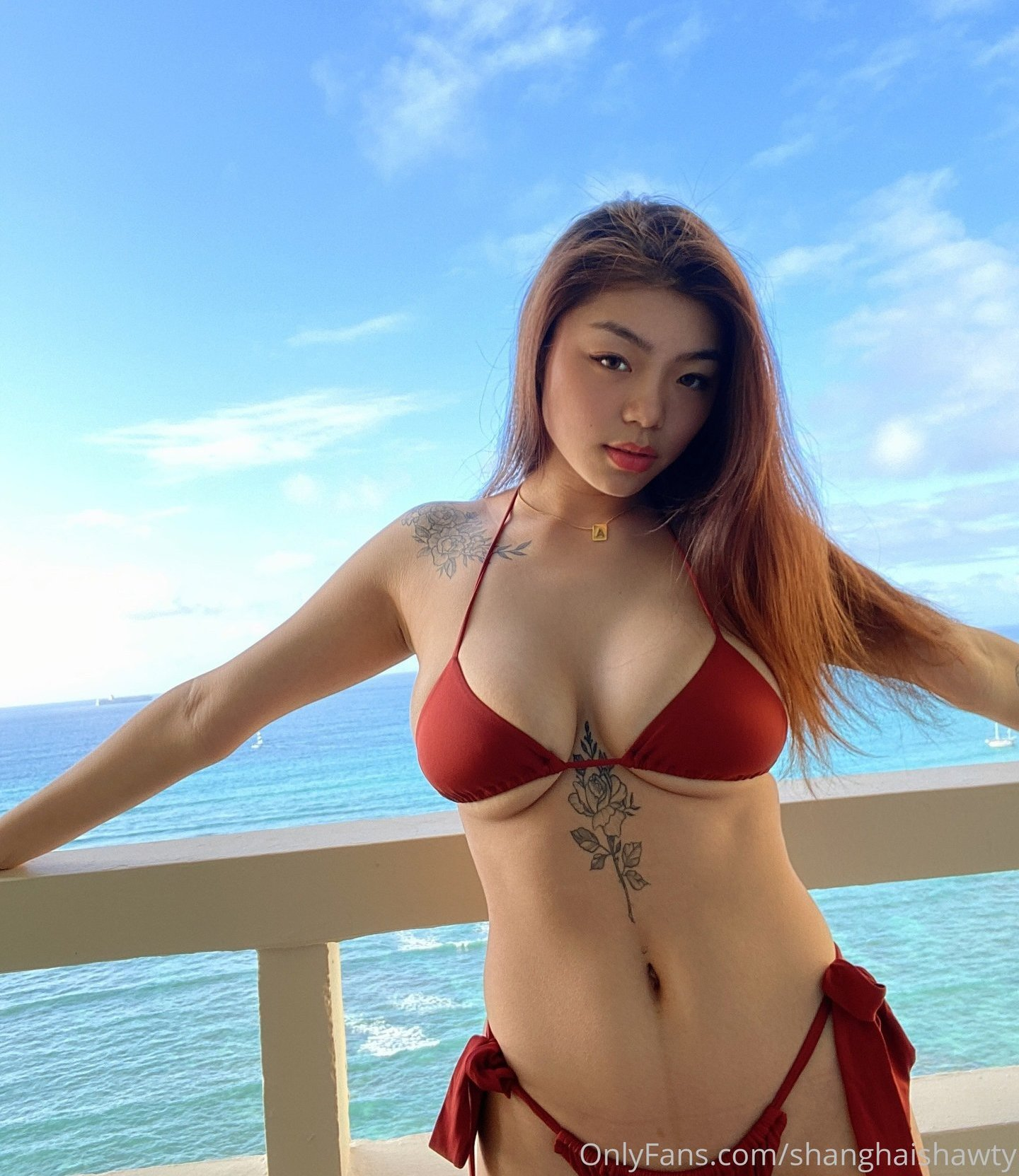 Shanghai Shawty Xanqiue Onlyfans Sexy Leaks 0031