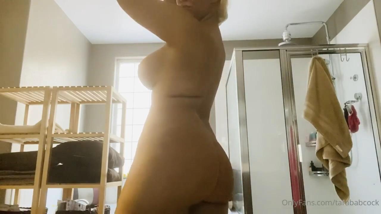 Tara Babcock Nude After Shower Onlyfans Porn Video Leaked