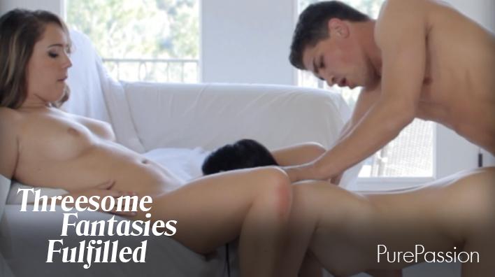 Threesome Fantasies Fullfilled — Lustcinema