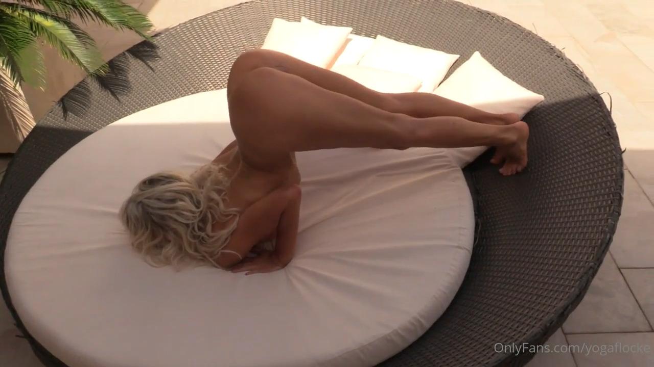 Yoga Flocke Nude Leaked Summertime Yoga Porn Video
