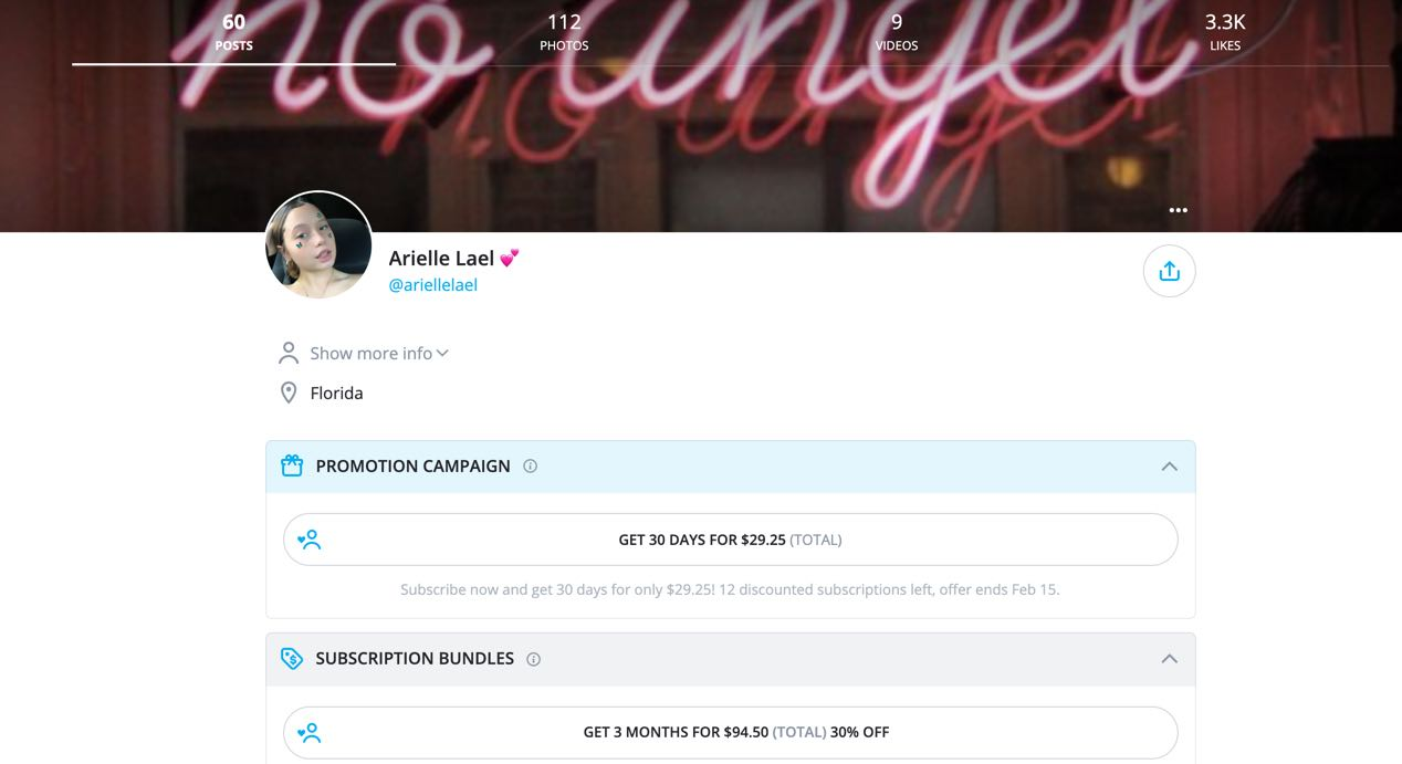 Arielle Lael Nude Onlyfans Leaked0062
