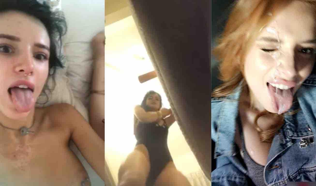 Bella Thorne Nude & Sex Tape Leaked 0008