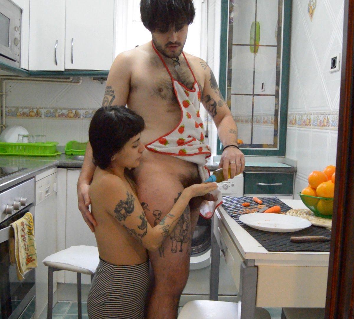Lustery Rodrigo & Xochipilli Do Play With Your Food