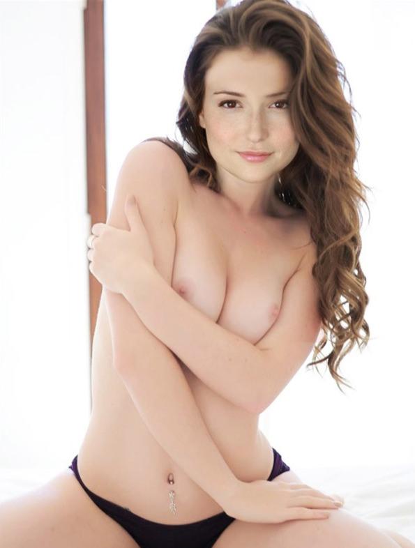 Milana Vayntrub Nude & Sex Tape Leaked! (at&t Girl) 0008