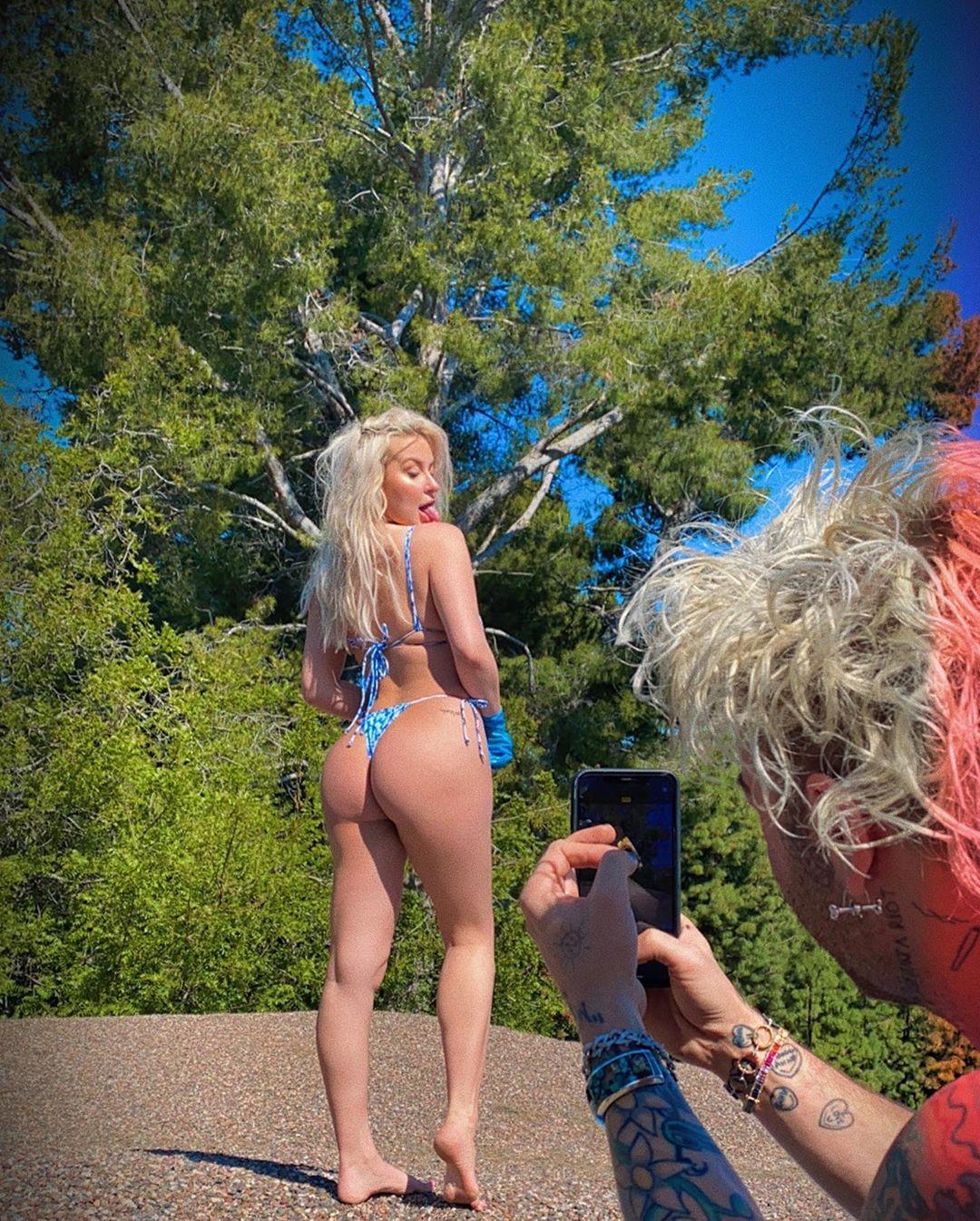 Tana Mongeau Nude & Sex Tape Leaked 0029