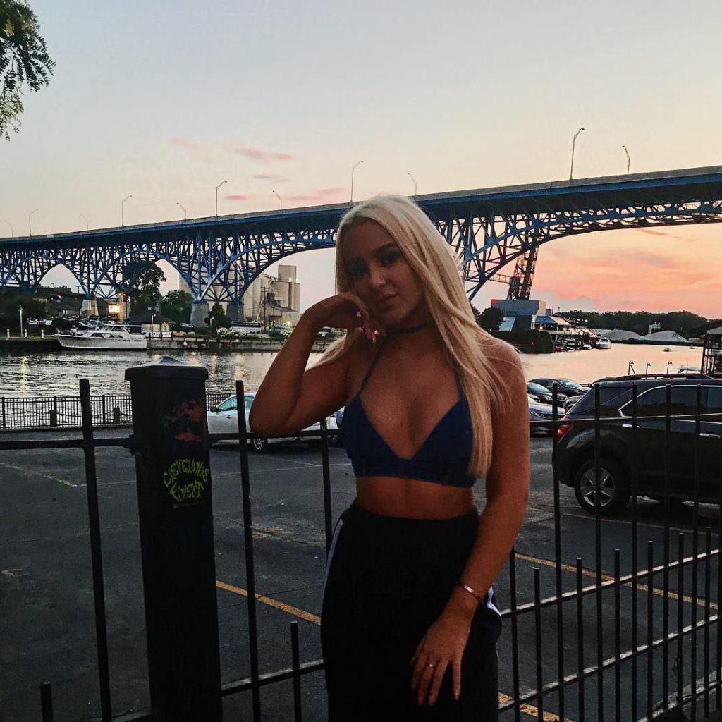 Tana Mongeau Nude & Sex Tape Leaked 0074