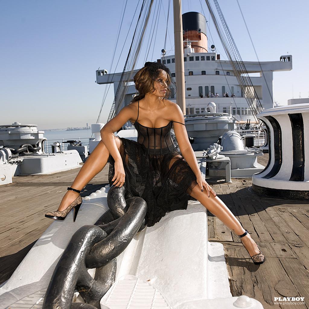 Garcelle Beauvais Nilon Playboy Plus (1)