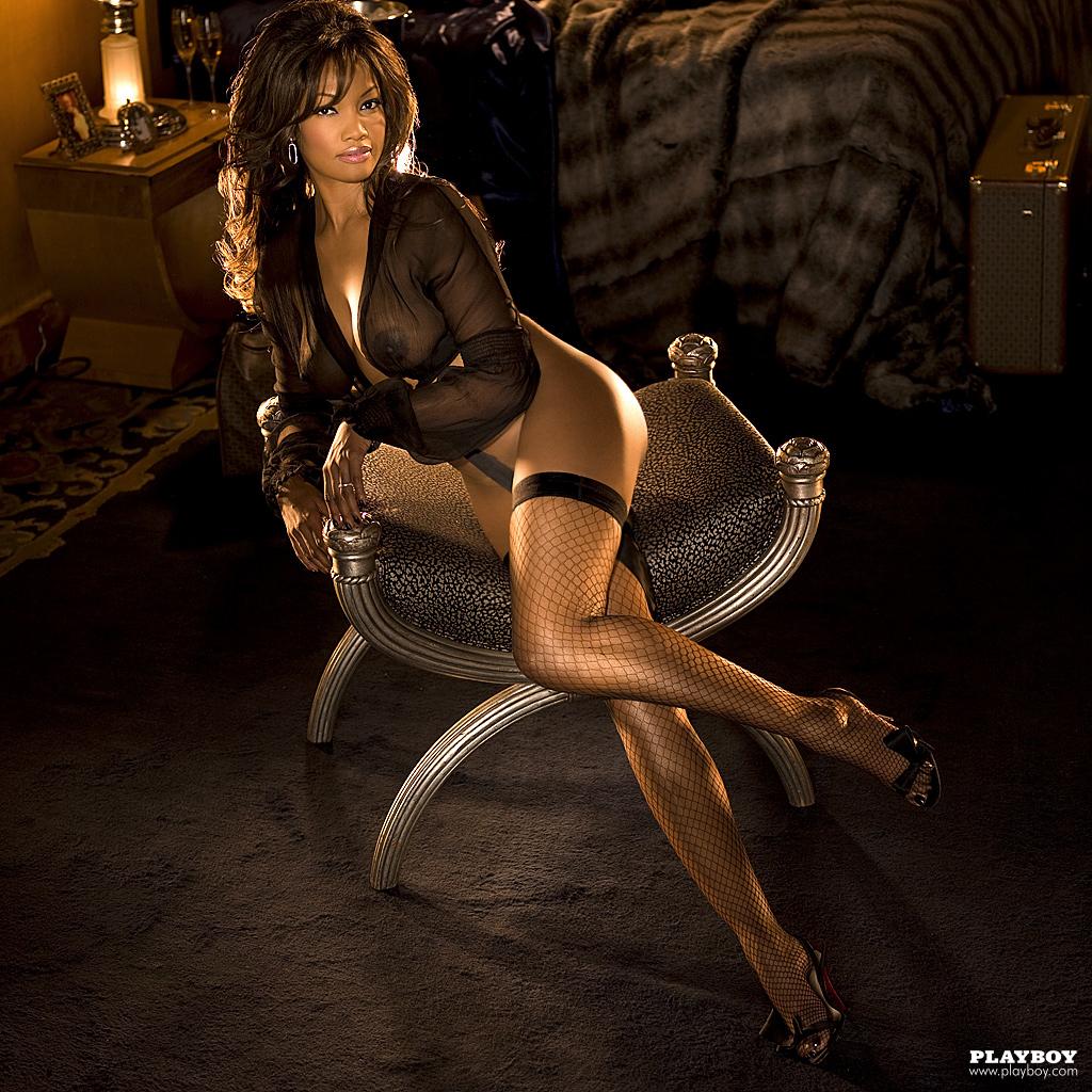 Garcelle Beauvais Nilon Playboy Plus (14)