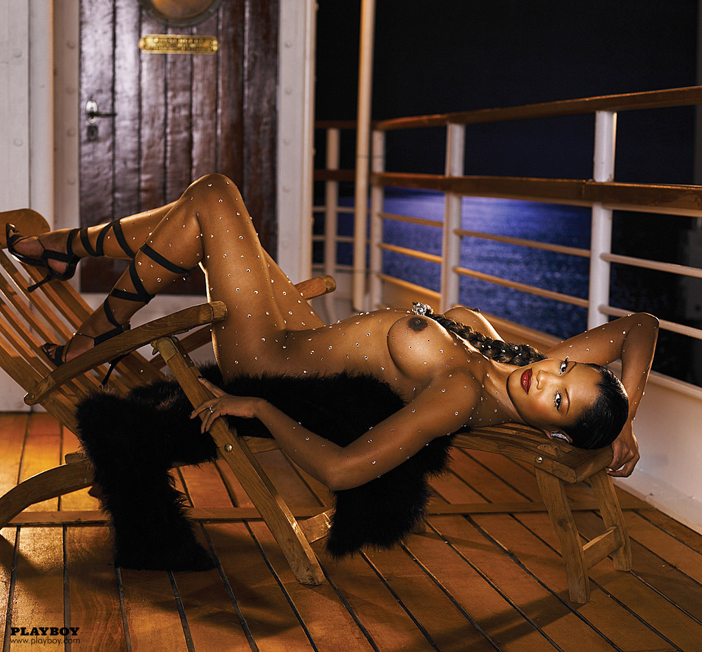 Garcelle Beauvais Nilon Playboy Plus (21)