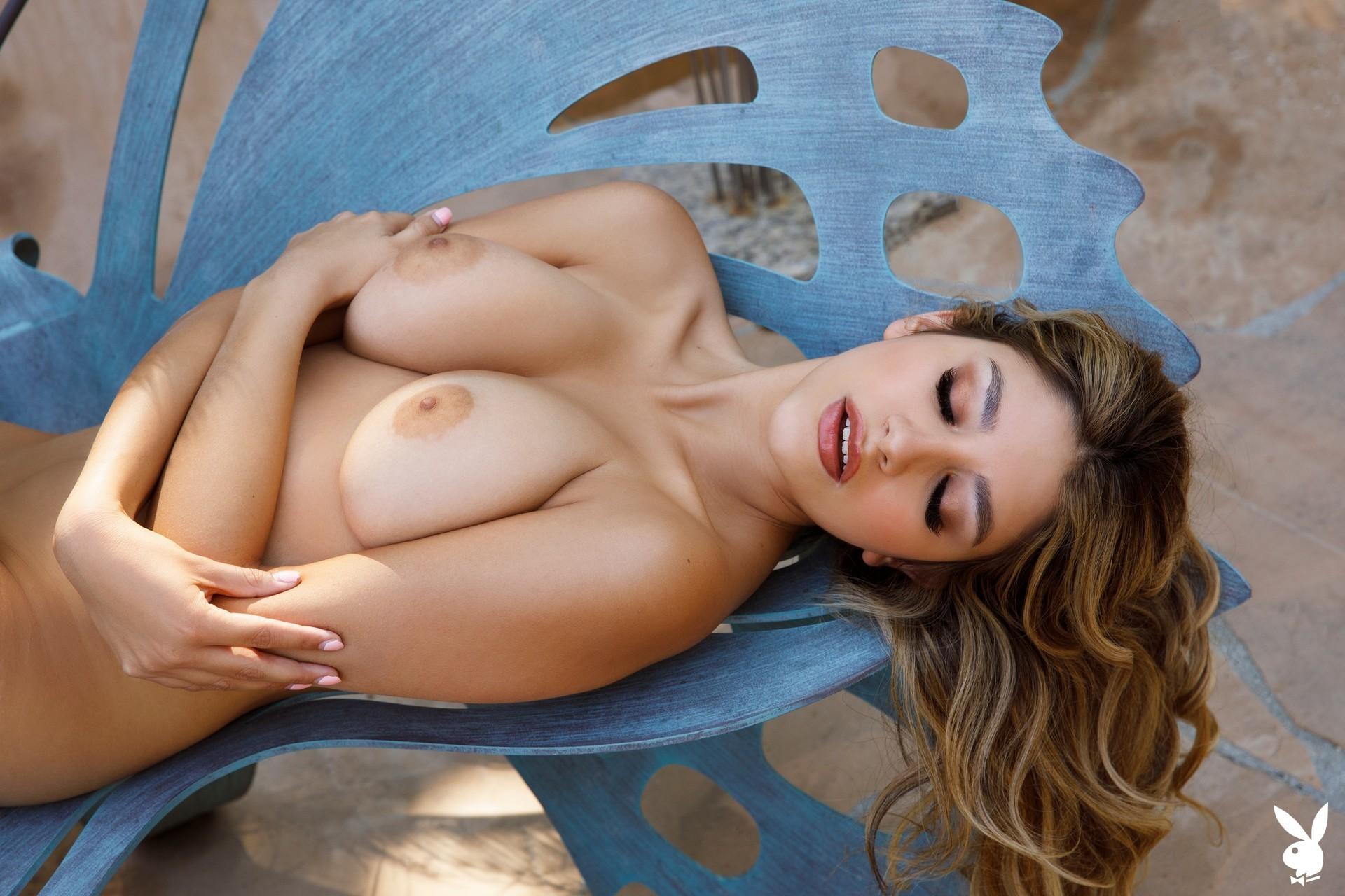Gina In Idyllic Afternoon Playboy Plus (23)