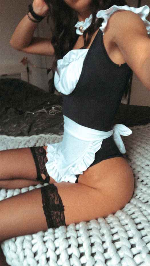 Luca Nude Onlyfans Maid Photos Leaked 0024