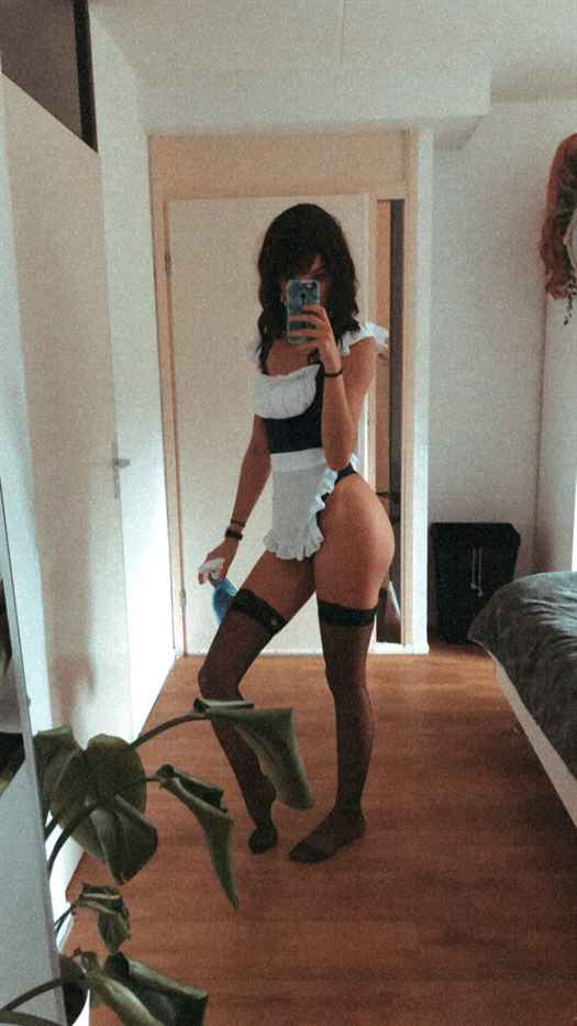 Luca Nude Onlyfans Maid Photos Leaked 0032