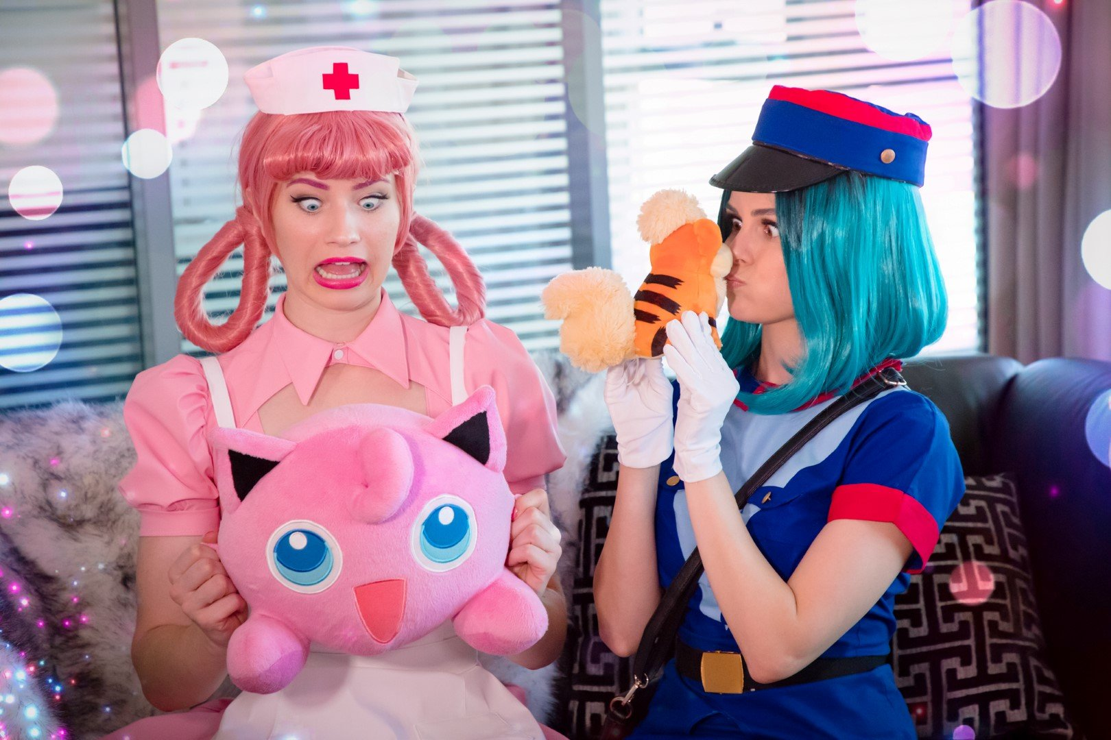 Nichameleon & Tabootie Nurse Joy Officer Jenny Cosplay Photos 0045