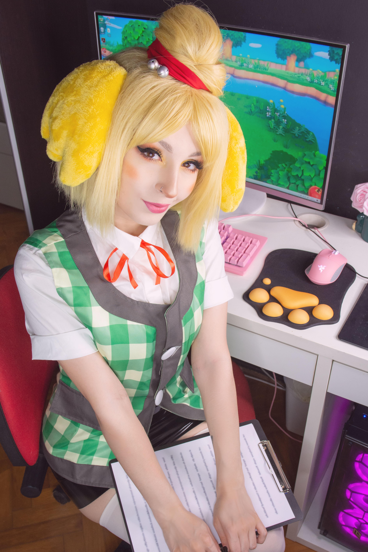 Shirokitsune Isabelle (animal Crossing) 0003