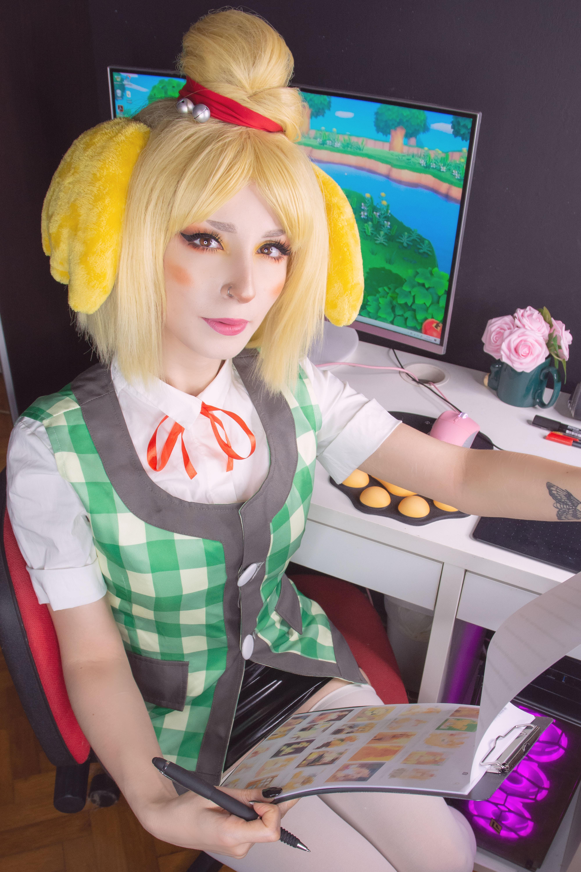 Shirokitsune Isabelle (animal Crossing) 0006