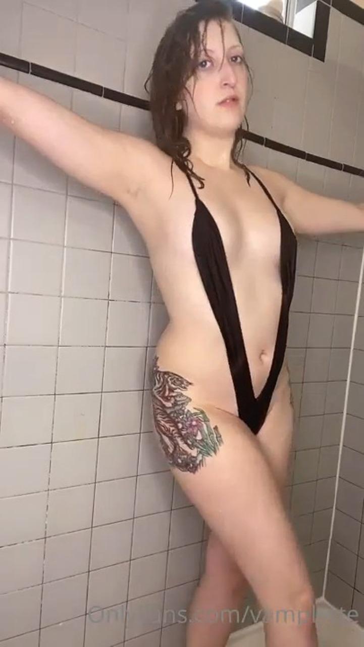 Vamplette Nude Slingkini Twerk Onlyfans Porn Video Leaked