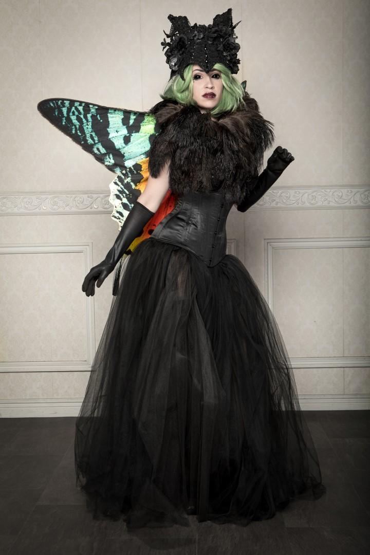 Vivid Vivka Nude Queen Of Moths Cosplay 0010