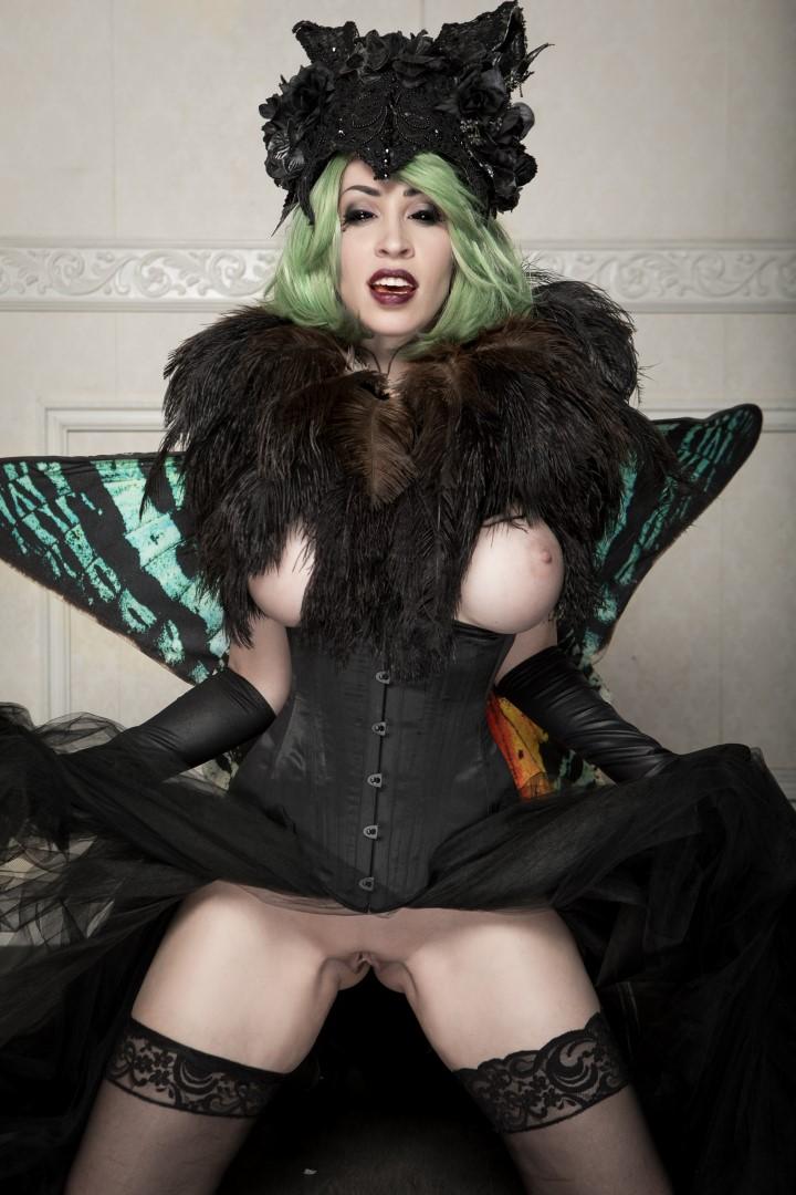 Vivid Vivka Nude Queen Of Moths Cosplay 0012