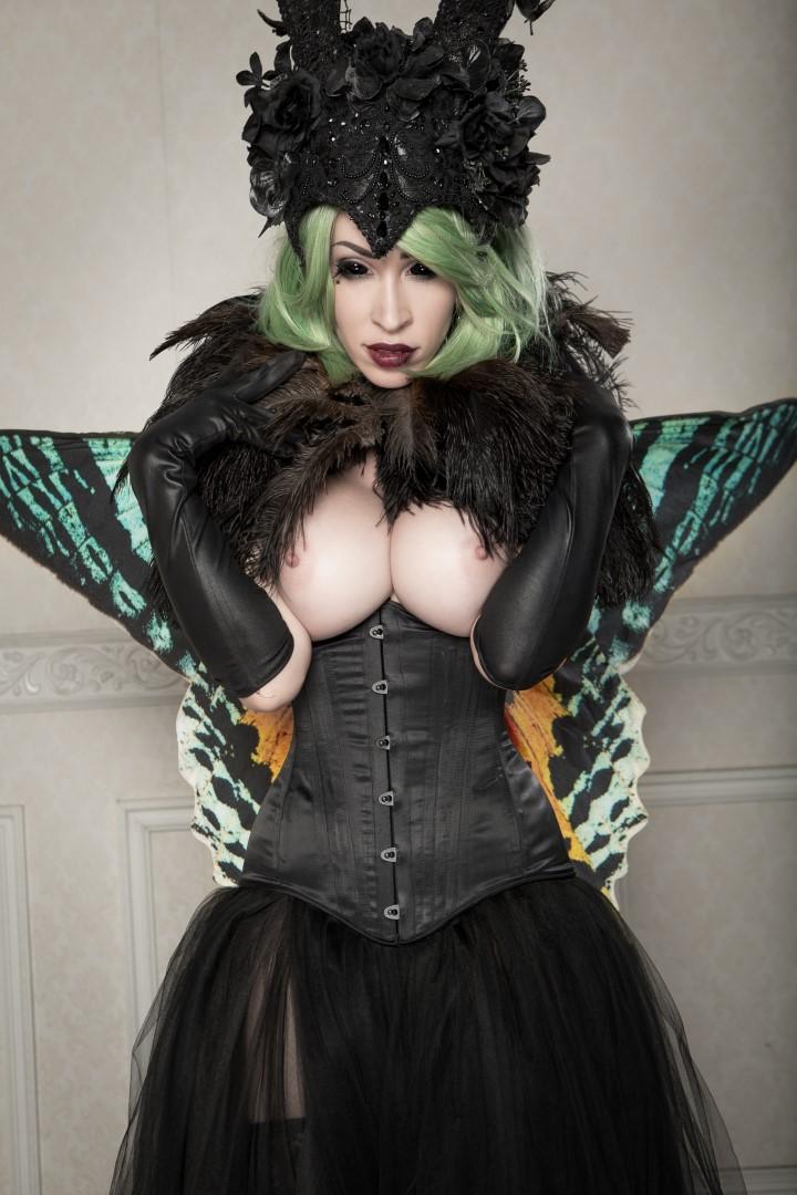 Vivid Vivka Nude Queen Of Moths Cosplay 0013