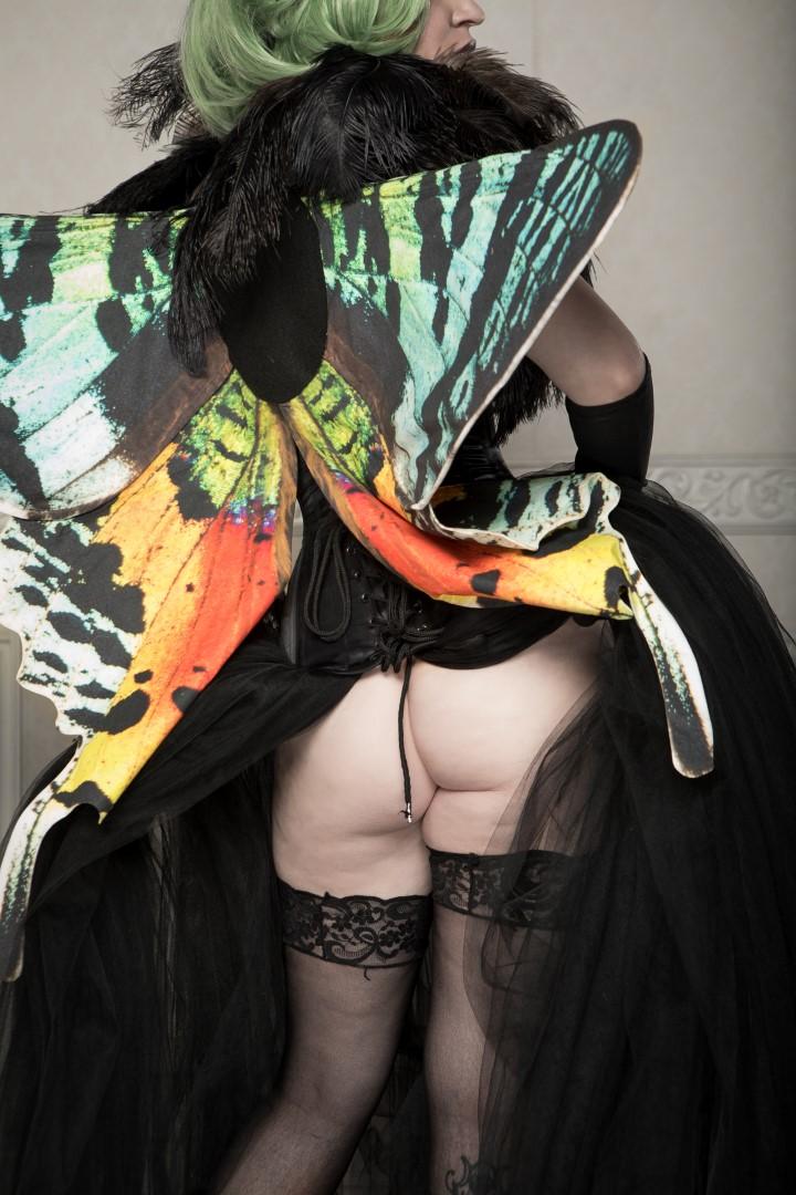 Vivid Vivka Nude Queen Of Moths Cosplay 0014