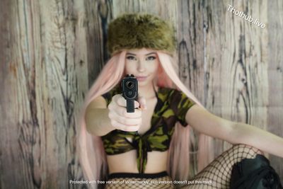 Belle Delphine Army Girl 0001
