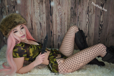 Belle Delphine Army Girl 0002