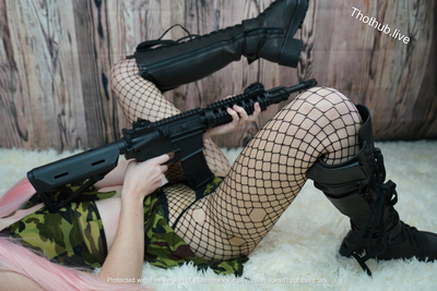 Belle Delphine Army Girl 0013