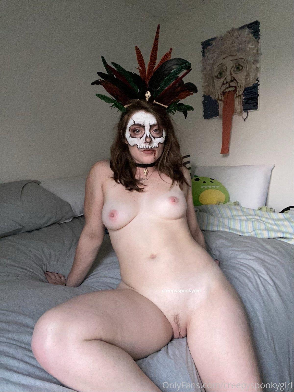 Creepy And Spooky As Always, Creepyspookygirl, Onlyfans 0095