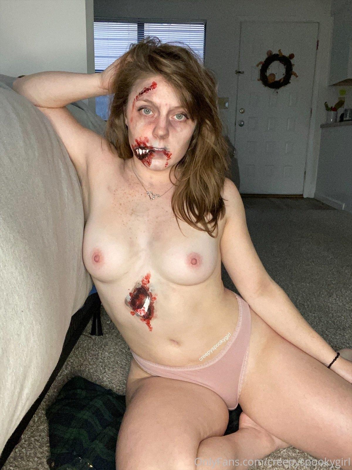 Creepy And Spooky As Always, Creepyspookygirl, Onlyfans 0160