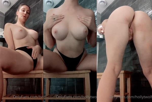 Holly Wolf Nude Shower Onlyfans Video Leaked
