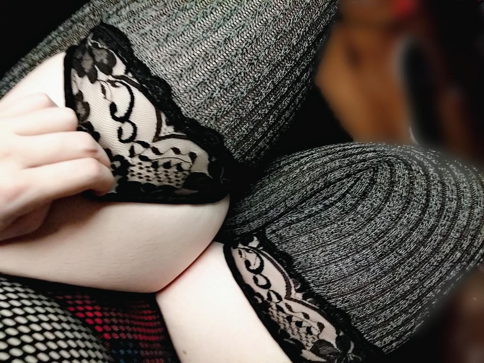 Poofychan's Slutty Goth E Girl Cosplay 0055
