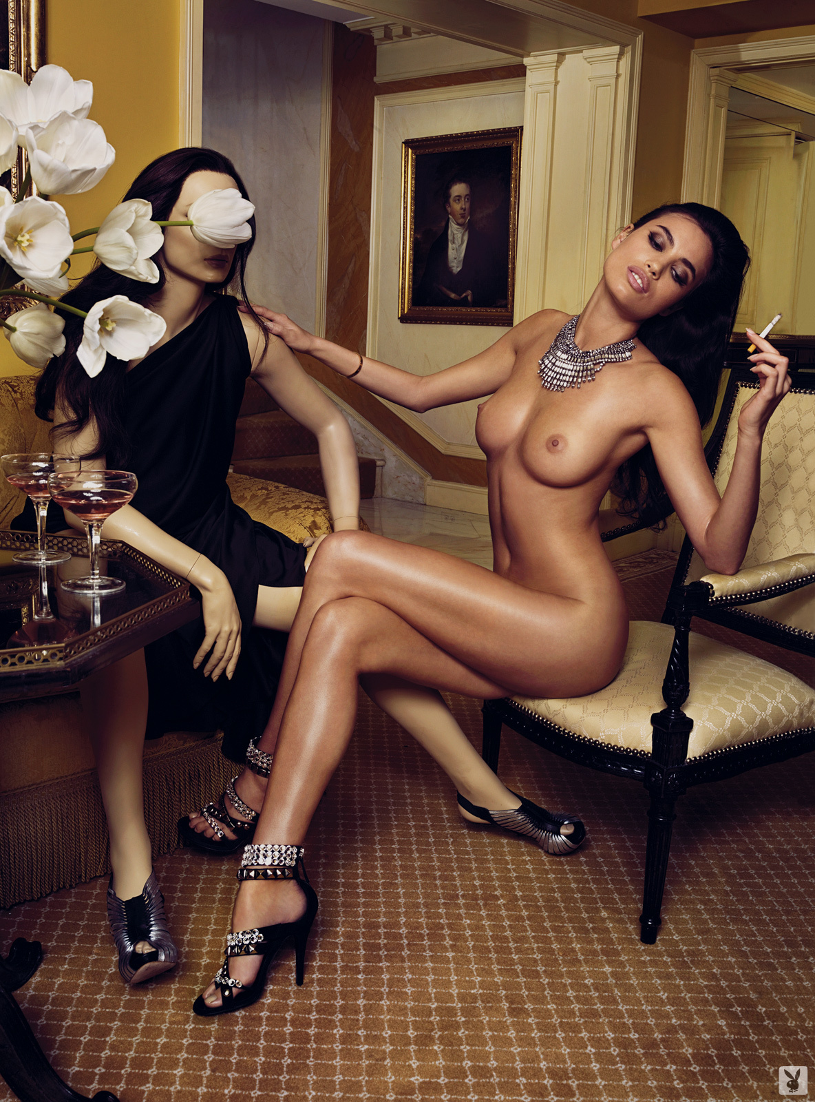 Super Model Alina Puscau, Nude On Playboy Plus (1)