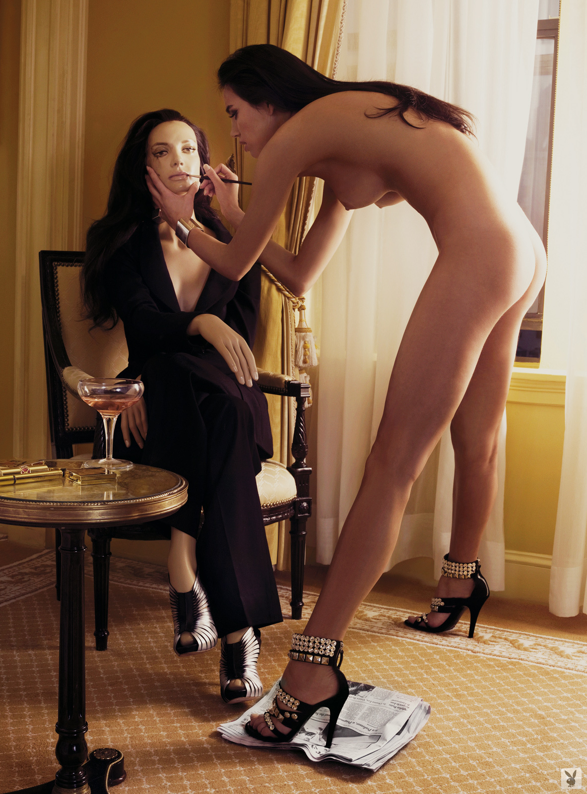 Super Model Alina Puscau, Nude On Playboy Plus (2)