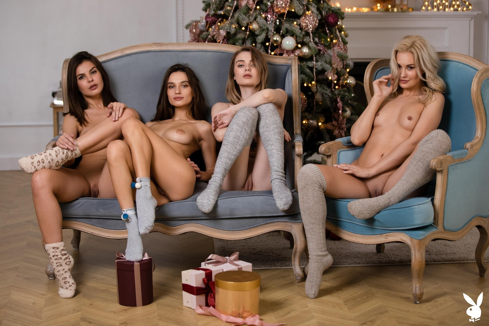 Winter Favorites Playboy Plus Alice Shea, Demi Fray, Erika Knight, Gloria Sol, Justine Miller, Kate Jones, Khloë Terae, Scarlett Sage, Vivienne Solange (24)