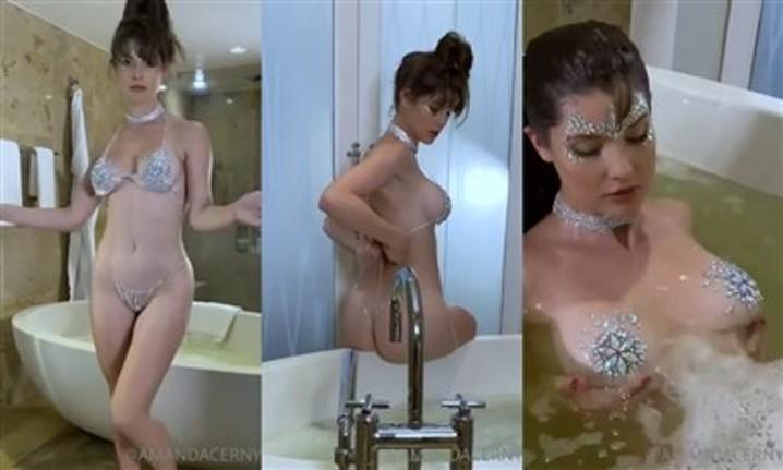 Amanda Cerny Leaked Nude Bathtub Porn Video