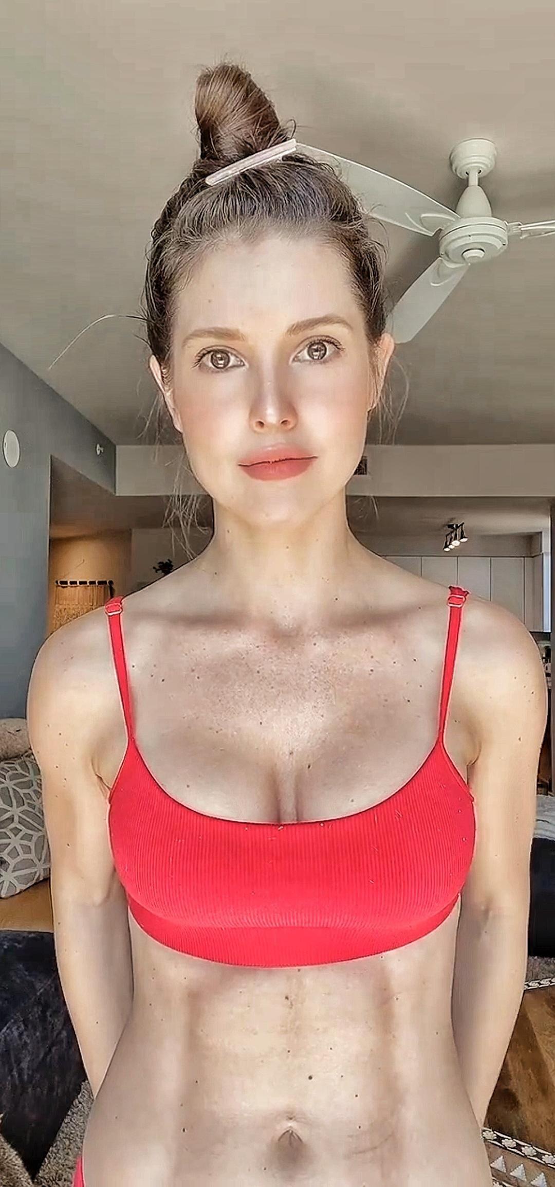 Amanda Cerny Red Bikini Onlyfans Set Leaked 0006