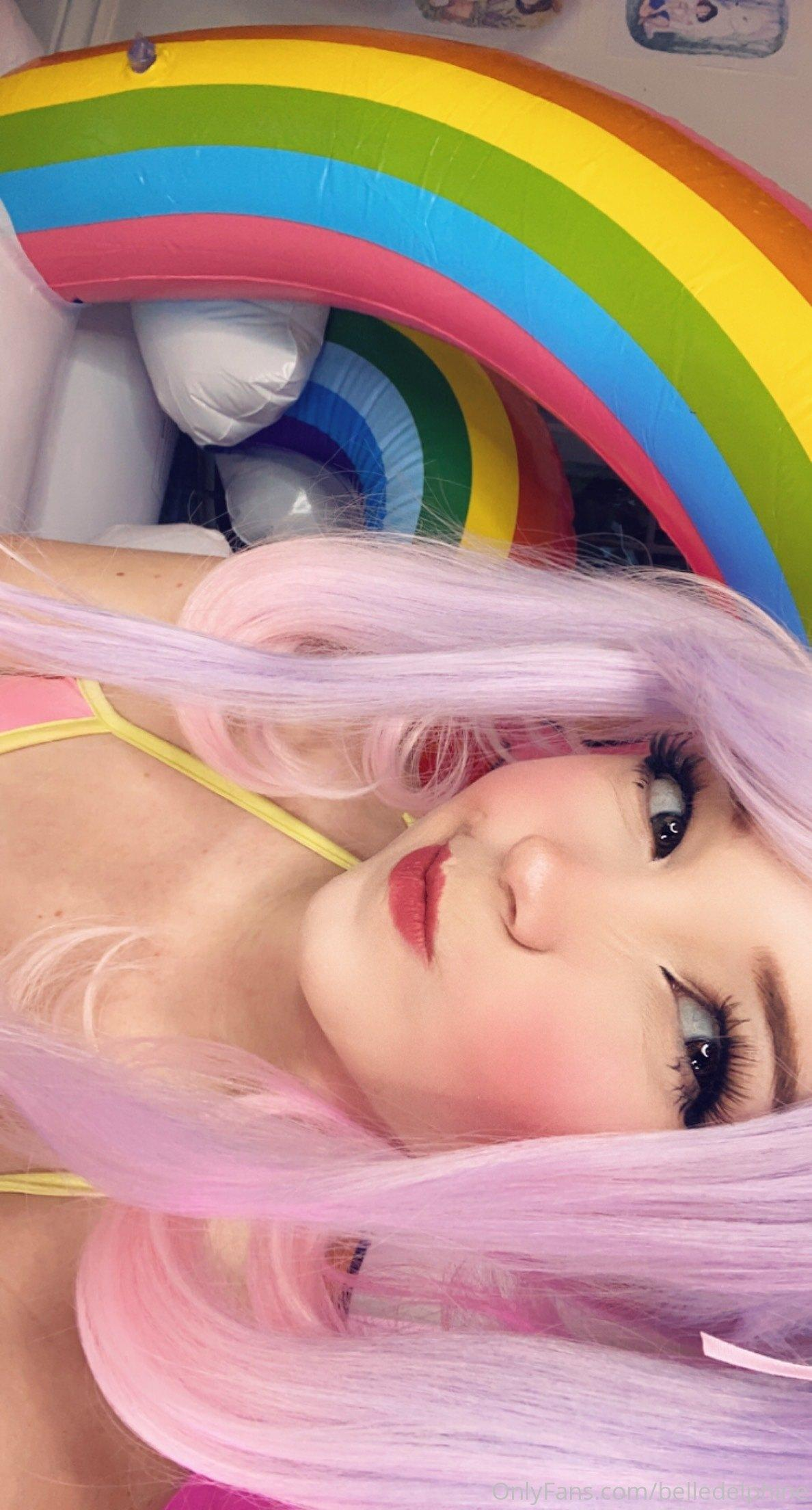 Belle Delphine Nude Horny Pussy Masturbation Onlyfans Set 0092