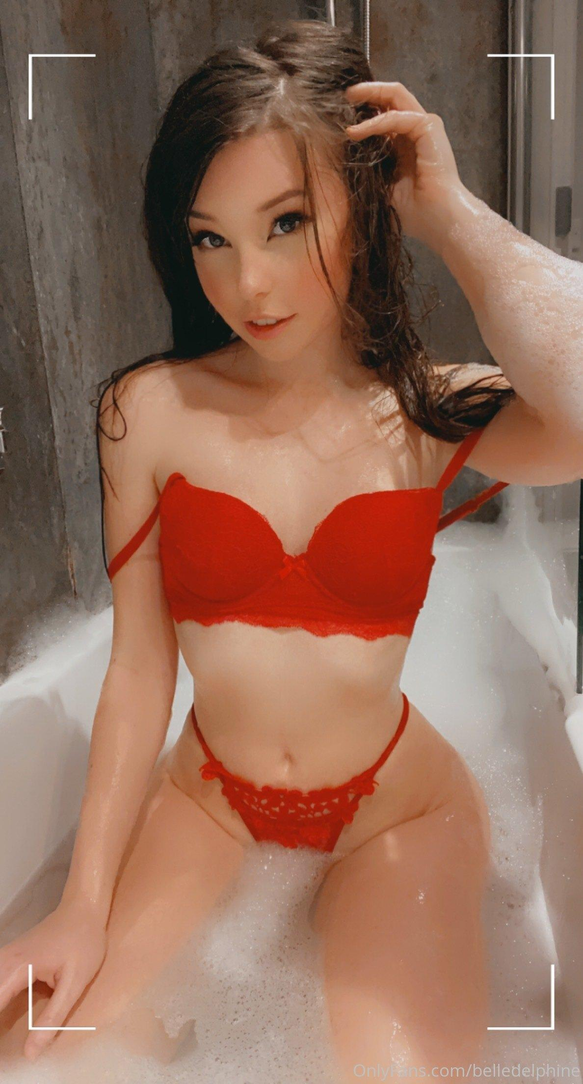 Belle Delphine Nude In Bath With Shoes Onlyfans Set Leaked 0026