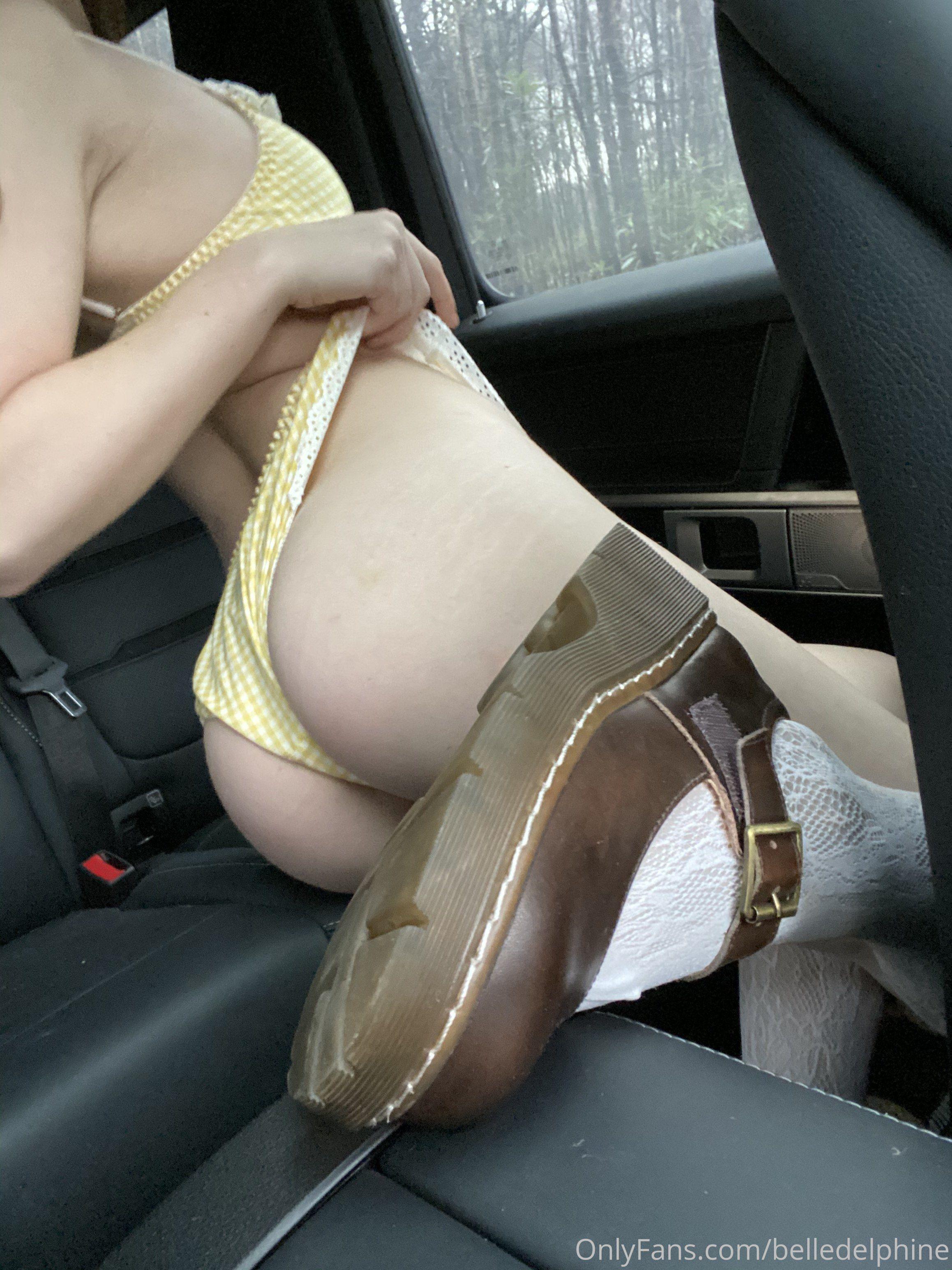 Belle Delphine Onlyfans Car 0008