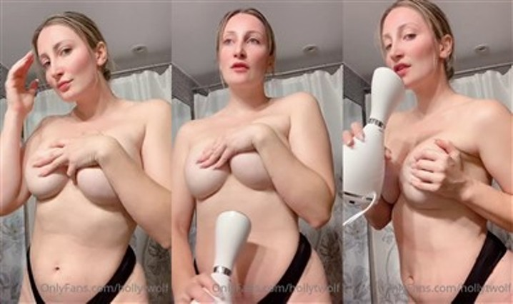 Holly Wolf Leaked Nude Onlyfans Teasing Porn Video