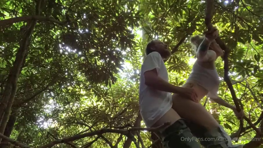 Karuna Satori Leaked Nude Outdoor Fucking Sextape Porn Video