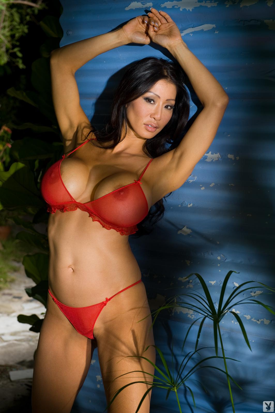 Kiana Kim Nude On Playboy Plus (1)