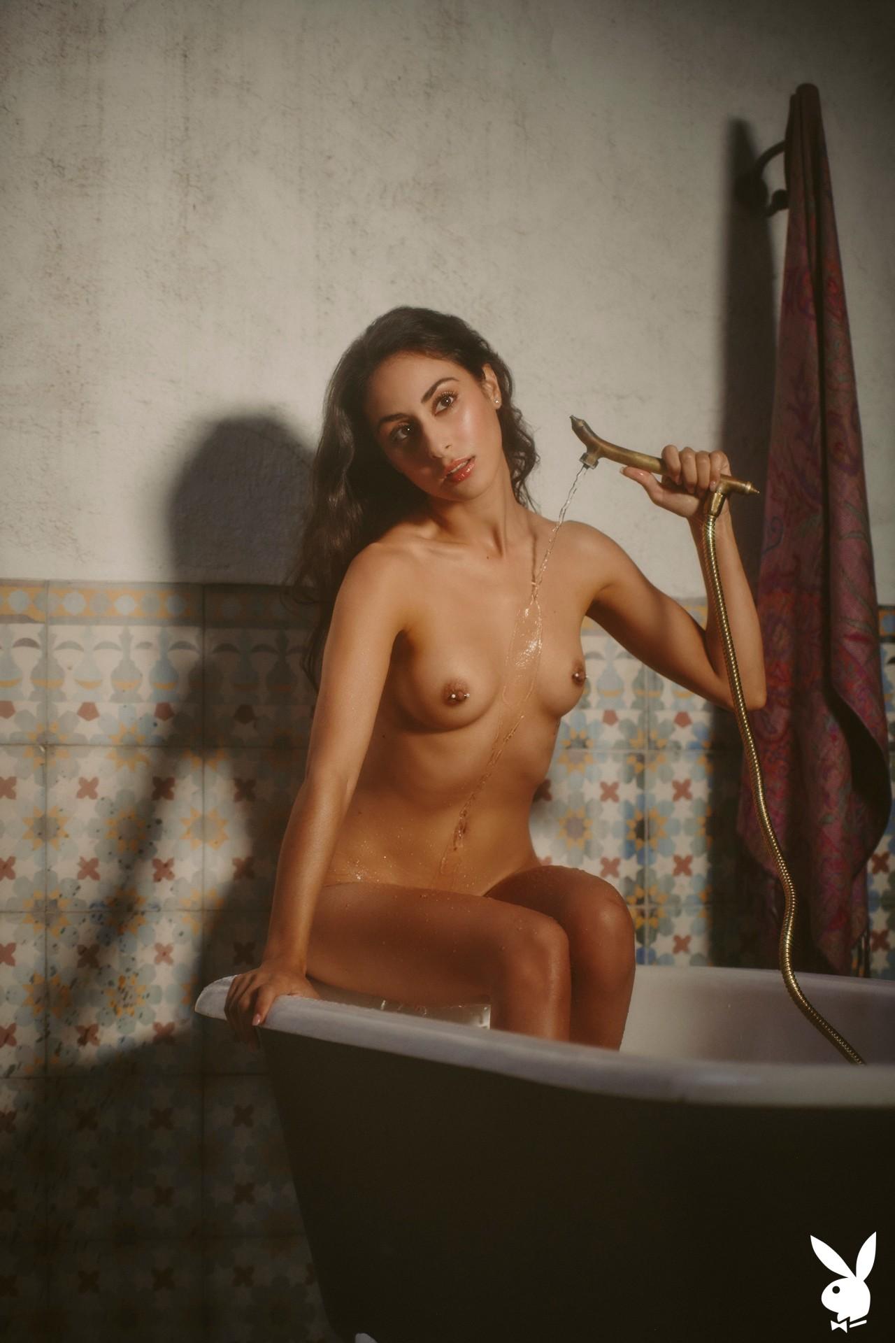 Leighla Habib In Hidden Location Playboy Plus (17)