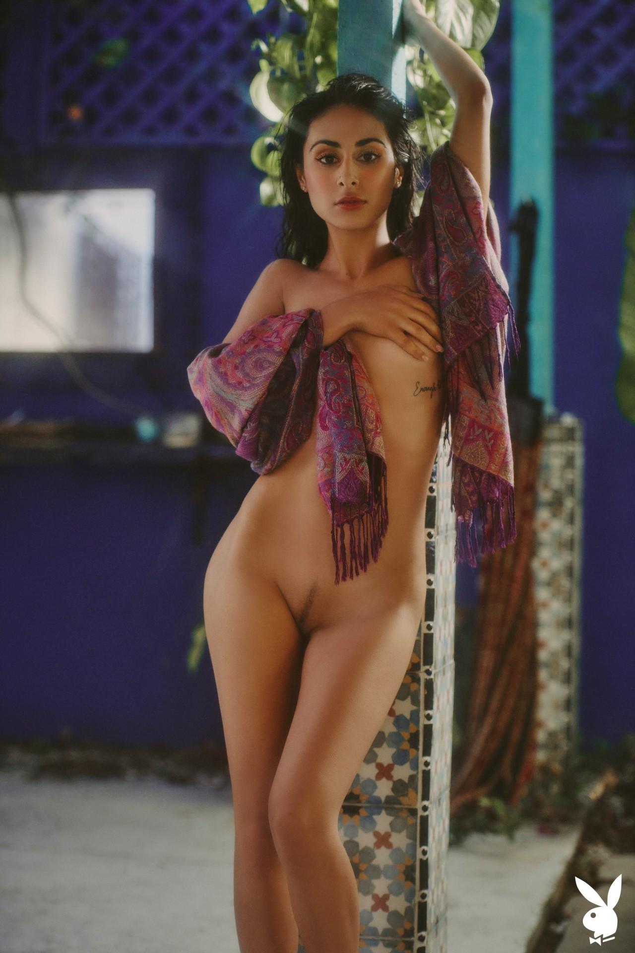 Leighla Habib In Hidden Location Playboy Plus (20)