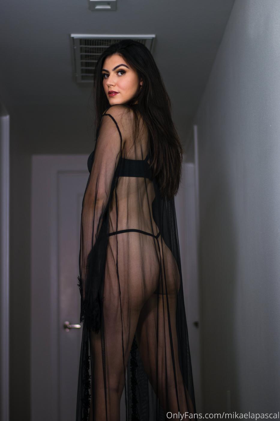 Mikaela Pascal Black Lingerie Onlyfans Set Leaked 0005