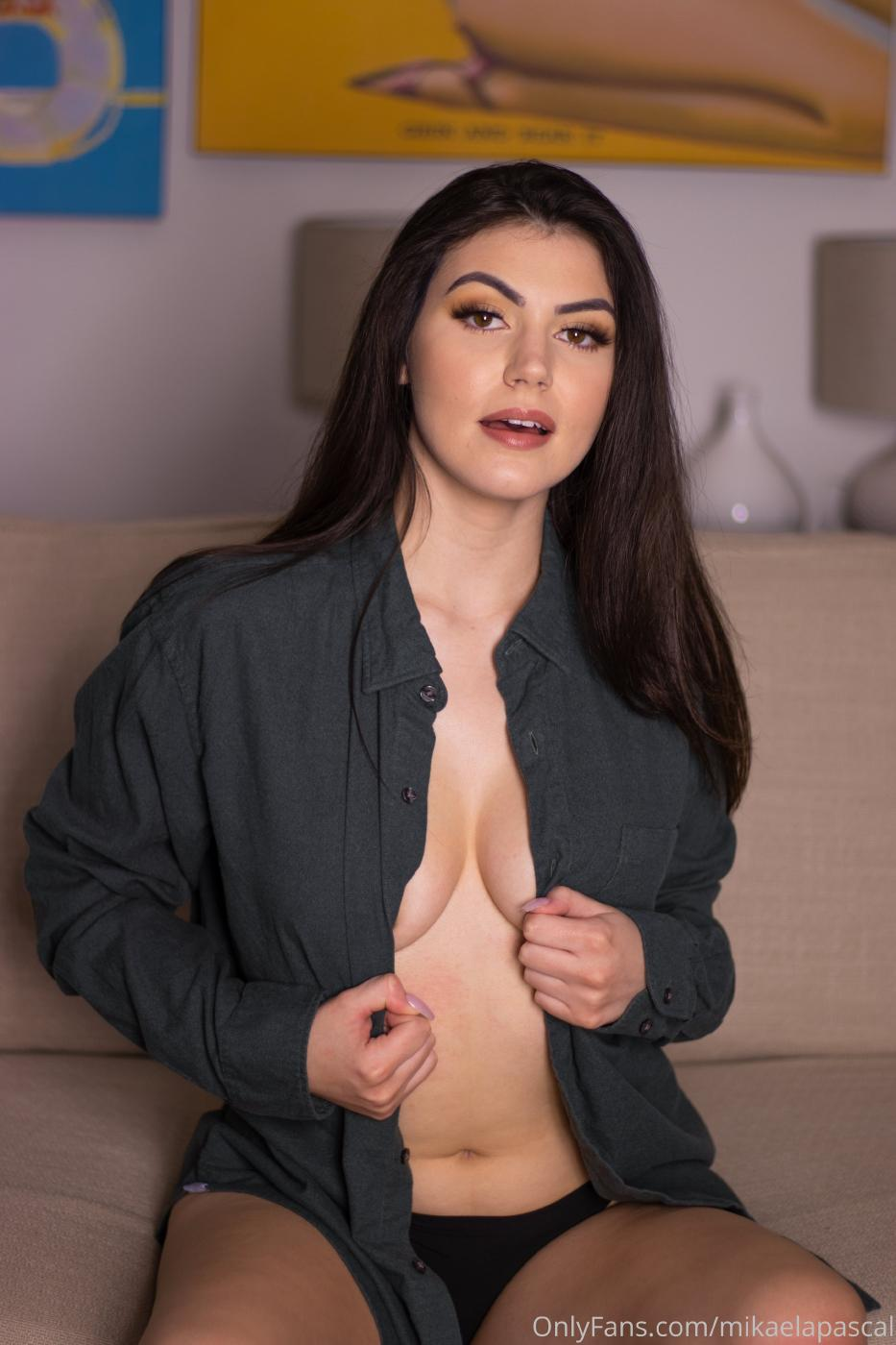 Mikaela Pascal Topless Blouse Onlyfans Set Leaked 0005