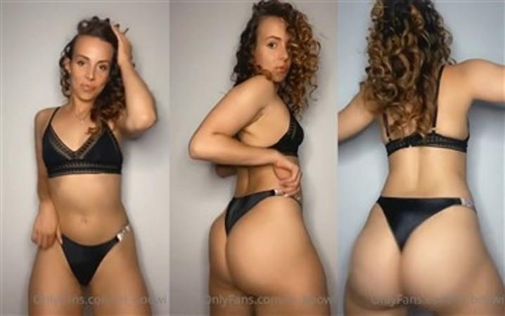M Boowi Nude My Hot Sexy Black Thongs
