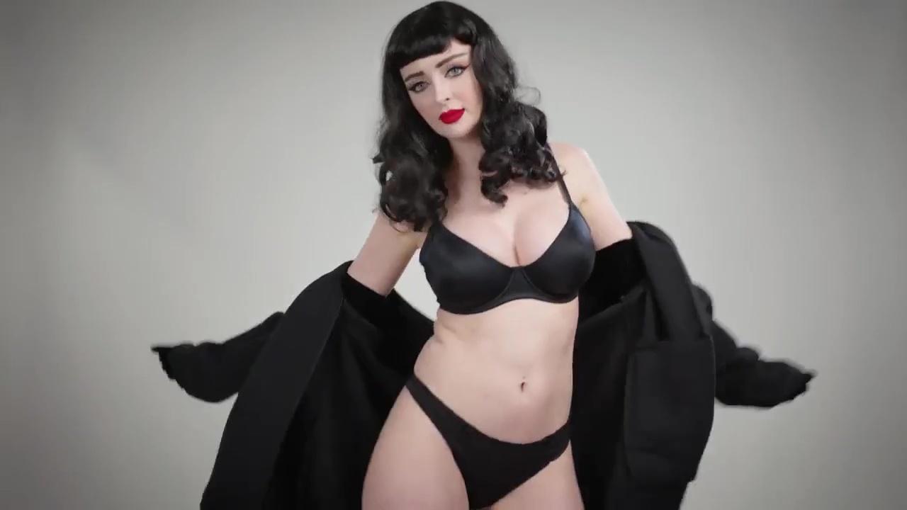 Kristen Lanae Black Bikini Sexy Tease Video